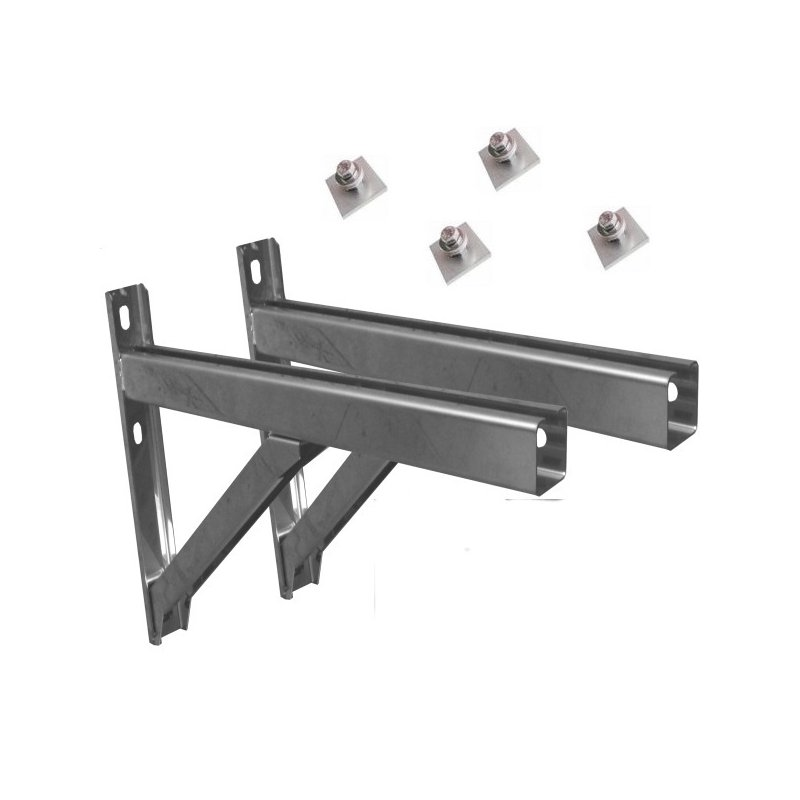 wandkonsole wandst tzen wandmontage f r edelstahlk. Black Bedroom Furniture Sets. Home Design Ideas