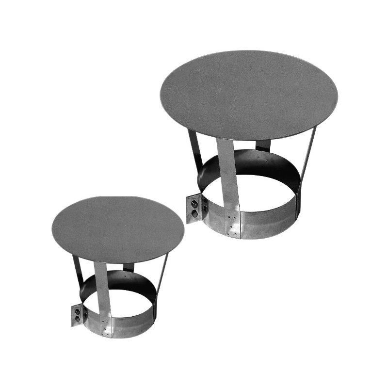 edelstahl regenhaube f r schornstein sanierung regenkap. Black Bedroom Furniture Sets. Home Design Ideas